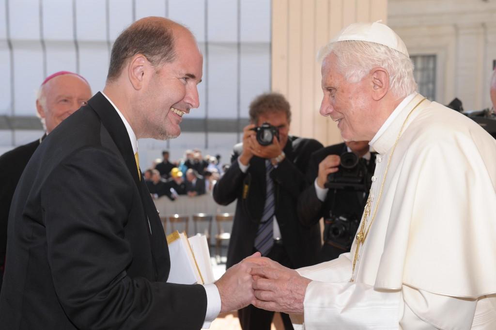 Michael Hesemann und Papst Benedikt XVI